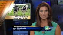 California dairy farmers seek price increase