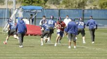 Giants Open Phase 2 of Off-season Program with Decent Attendance