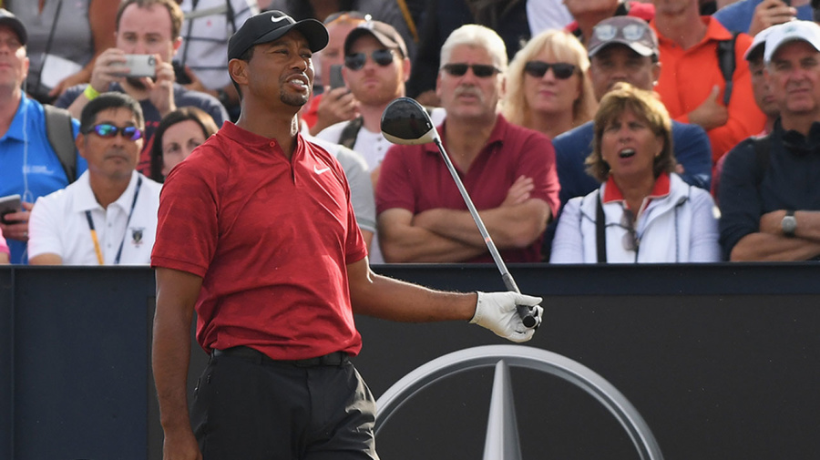Tiger left furious after 'disgraceful' act by 'idiot' fan