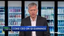 Coca-Cola CEO James Quincey: We do see 2019 demand being 'softer'