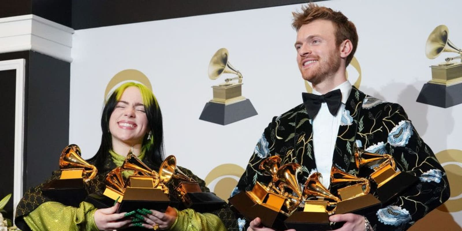 Billie Eilish and Finneas O'Connell Talked Awards, Fans, and What's Next Right After They Swept the Grammys
