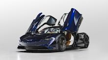 McLaren & Hermès Partnered to Build This Car—and There's Only One in the World