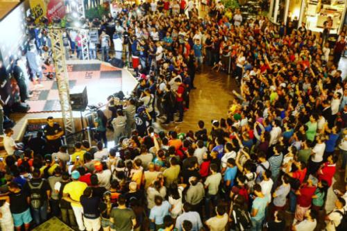 O público compareceu em peso nesta quarta-feira - Inova Foto