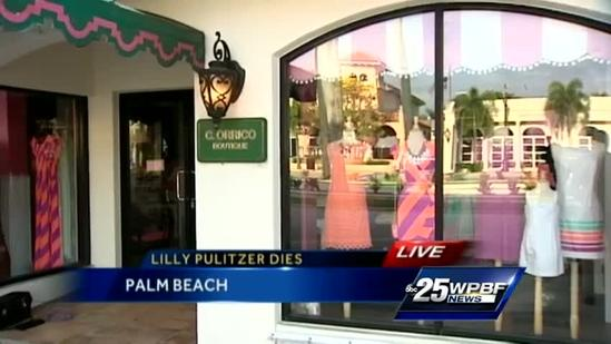 Lilly Pulitzer dies in Palm Beach at age of 81