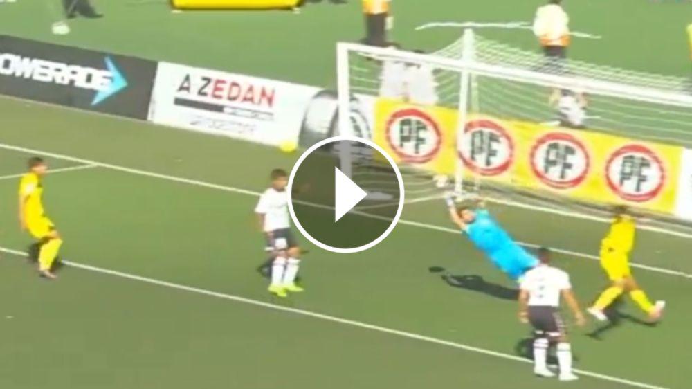 VIDEO: ¡Otra más! Garcés no pudo con el balón y San Luis se adelantó