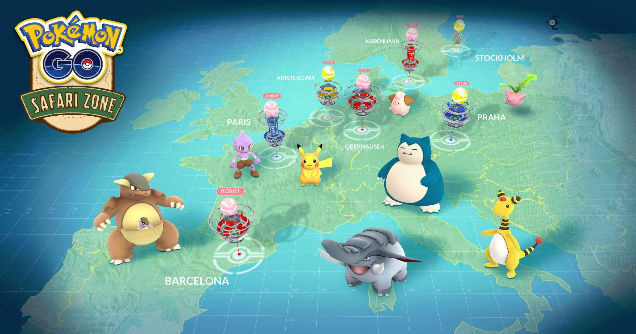 Pokémon Go' anniversary events cued up for Europe, Japan