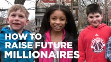 4 millionaire money habits to teach your kids