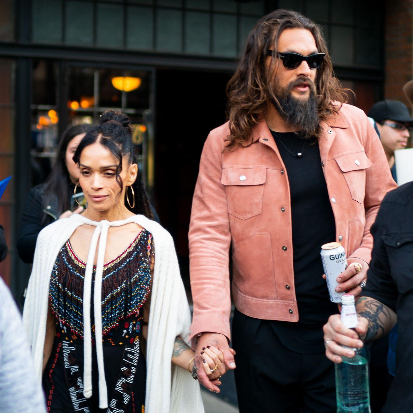 Jason Momoa College: Jason Momoa Showed Up With A Can Of Guinness To The 'Game