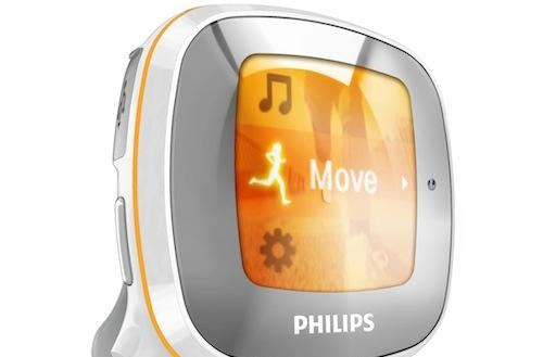 Philips Activa fitness MP3 player reminds you to move