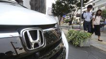 Japan's Honda reports loss in April-June as virus hits sales