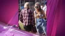 Entertainment News Pop: Prince Harry And GF Cressida Bonas Go Backstage To Hang With Mumford & Sons