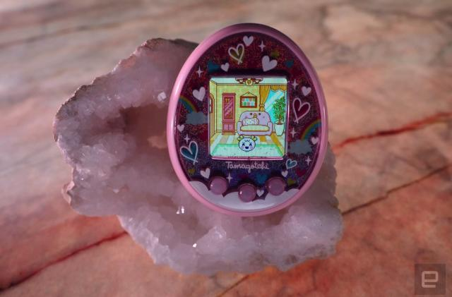 Tamagotchi On is connected, cute and cacophonous