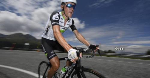 Cyclisme - Vuelta - Tour d'Espagne : Dimension Data avec Serge Pauwels et ses deux Basques
