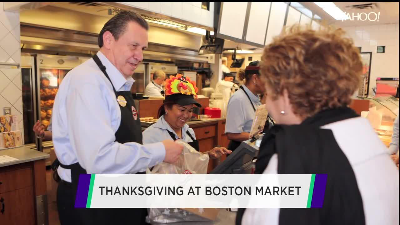 Boston market ceo talks thanksgiving turkey and the for Is waffle house open on thanksgiving