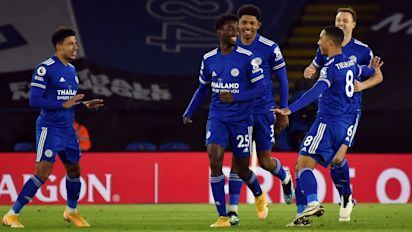 Leicester go top as defeat piles more pressure on Chelsea manager Frank Lampard