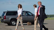 Housekeeper at Trump's N.J. golf club details first family's laundry habits