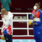 'I feel like a failure,' says Team GB boxer after earning silver medal