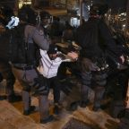 Police clash with Palestinians, far-right march in Jerusalem