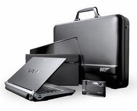 Sony kicks out 007 Edition VAIO TX / DSC-T50B Cybershot