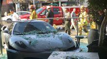 Ferrari Crashes Into Lisa Vanderpump's Restaurant in West Hollywood