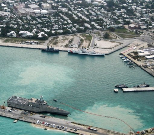 US military bases at risk from sea level rise: study