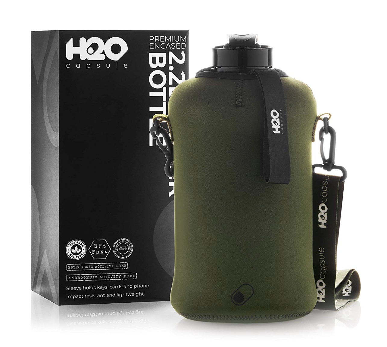 H20 Capsule Half Gallon Water Bottle