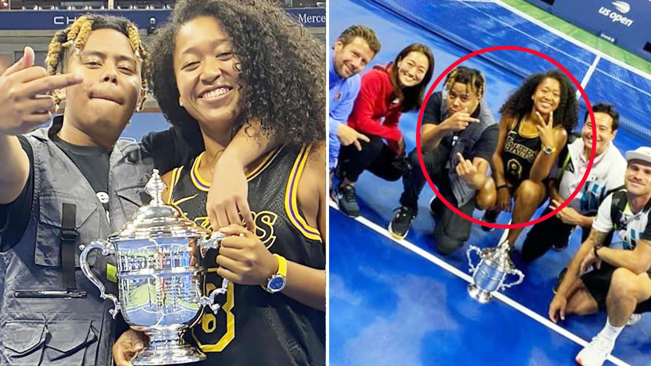 Naomi Osaka's defiant message amid 'disgusting' photo furore