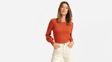 Everlane's newest cashmere sweater is perfect for fall