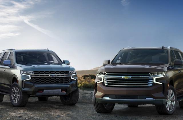 Chevy's 2021 Tahoe and Suburban add OTA updates and big screens