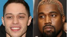 Pete Davidson Hangs Out With Kanye West After Calling Him Out on 'SNL'