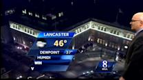 Windy, colder conditions expected today