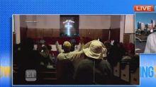 Prayer vigil held for Aretha Franklin