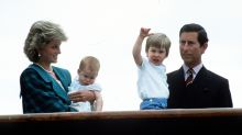 Princess Diana wasn't a fan of Prince Charles' baby name suggestions