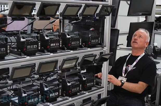 Red performs Dragon sensor upgrades right on the NAB show floor (video)
