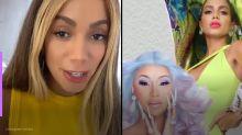 Anitta anuncia feat com rapper Cardi B