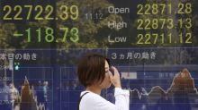 Asia shares sag after retreat on Wall St, weaker Japan data