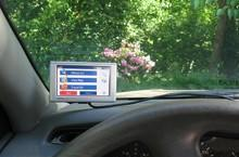 Windshield GPS mounting legalized again in California