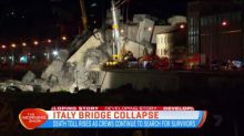 Search for survivors of Italy bridge collapse continues