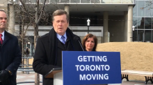 Tory announces new utility work restrictions to improve traffic flow downtown