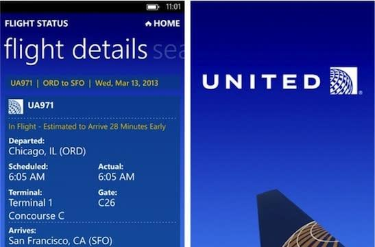 United app lands on Windows Phone 8, hopes to become your preferred travel companion