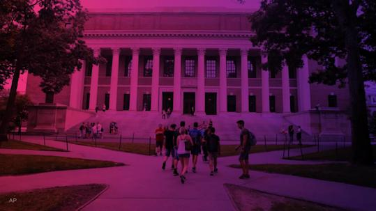 Harvard student denied US entry arrives in time for classes