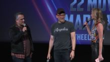 'Avengers' fans sit through 22-movie marathon