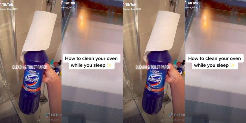People on TikTok are sharing videos of how they clean ...  |Housekeeping Tiktok