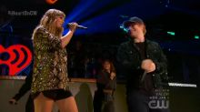 Taylor Swift and Ed Sheeran's 'End Game' duet steals the show at iHeartRadio Jingle Ball