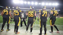 Building the offensive line should be the priority to fixing the Steelers run game