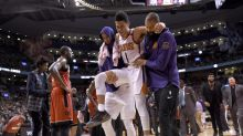 Suns' Devin Booker out 2-3 weeks after suffering left adductor strain