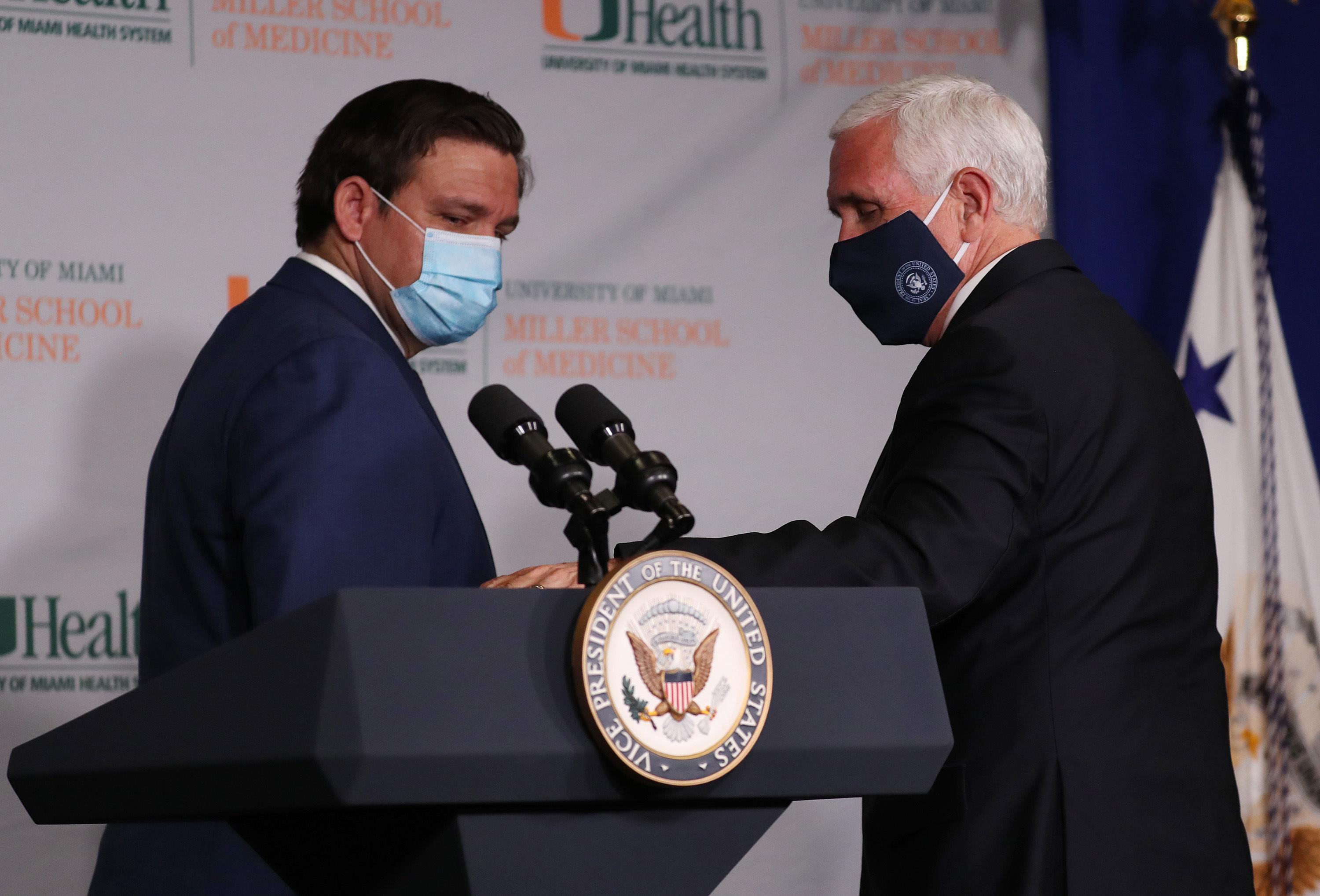 Vice President Pence urges participation in coronavirus vaccine trial
