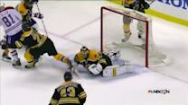 Rask stuns Eller with clutch OT save