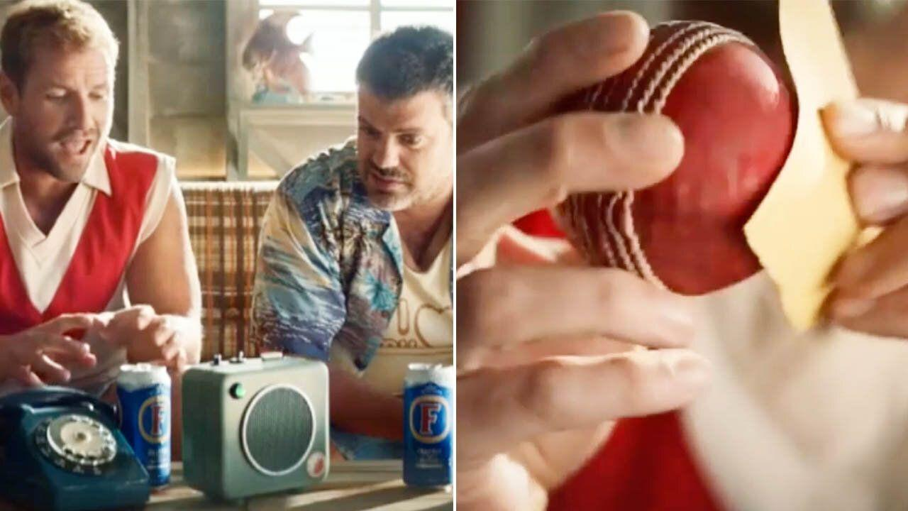 Aussie beer company turns on cricketers with savage ball-tampering sledge