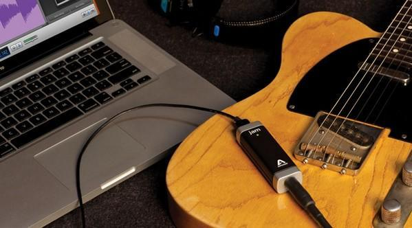 Jam guitar input for Mac and iOS devices gets your axe into GarageBand